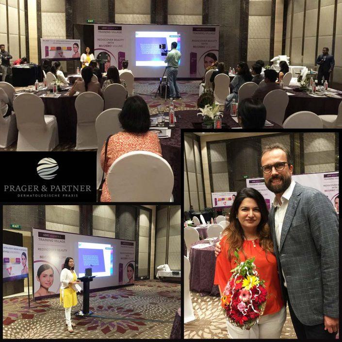 Unser Veranstaltungsraum für rund 30 Teilnehmern am Hands-on-Workshop in Mumbai, Indien. Our eventroom is ready for more than 30 participants in the hands-on-workshop. Mumbai, India.