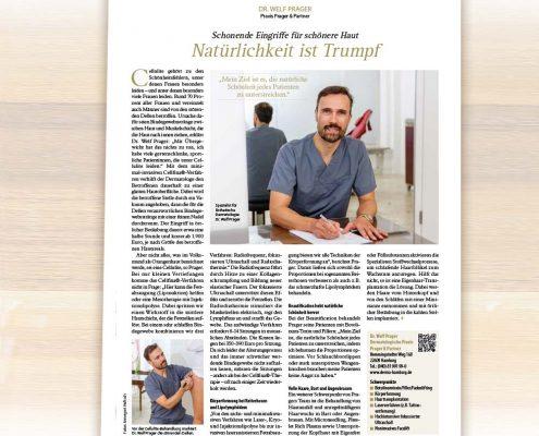 Dr. Prager: Beauty Interview im Klönschnack über natürliche Schönheit